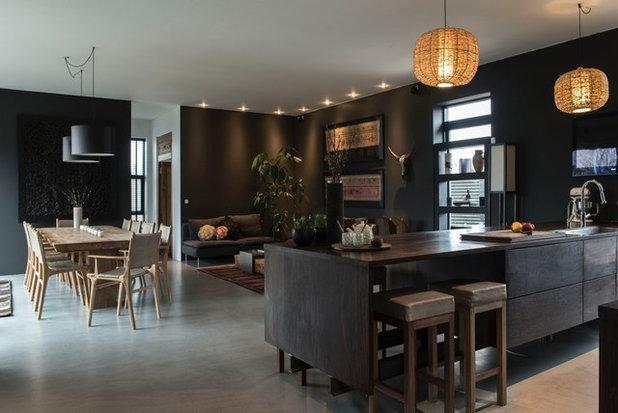 Classique Chic Salle de Séjour by Living Luxury