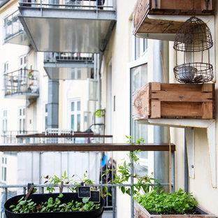 Design ideas for a scandi balcony in Copenhagen.