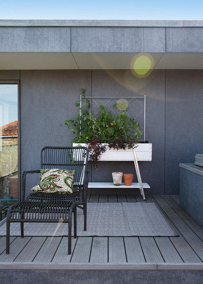 Transitional Balcony by The Sweet Spot