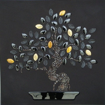ALBERI STUCCATI / GROUTED TREES