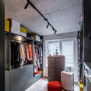 Foto på en industriell garderob