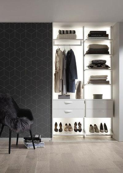 Contemporary Wardrobe by Jocham Wohncocktail