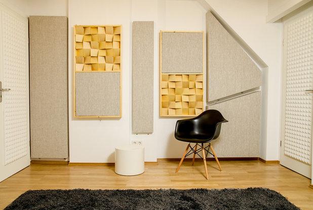 Trendy Hjemmekontor by Akustik Design Studio - Schubert Studio