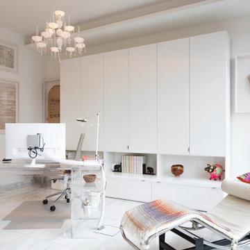 Apartment aus weißem Marmor