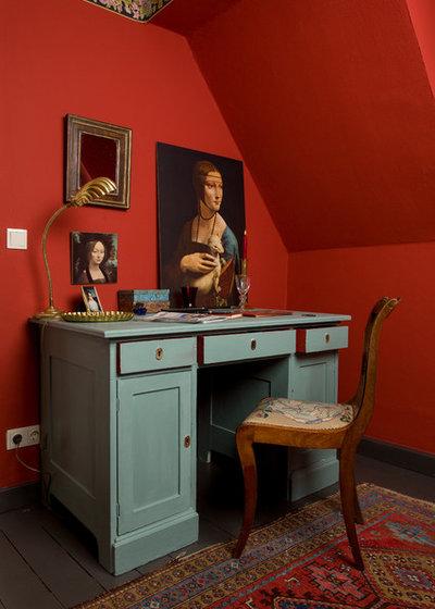 Landhausstil Arbeitszimmer by Anna von Mangoldt Farben