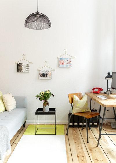 Scandinave Bureau à domicile by Kathy Kunz Interiors