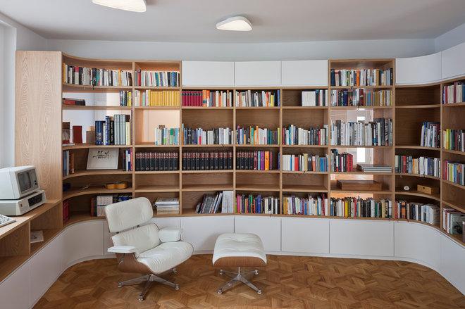 Contemporary Home Office by wiewiorra hopp schwark architekten