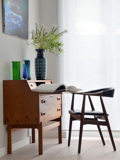kleines arbeitszimmer ideen f r ihr home office design houzz. Black Bedroom Furniture Sets. Home Design Ideas