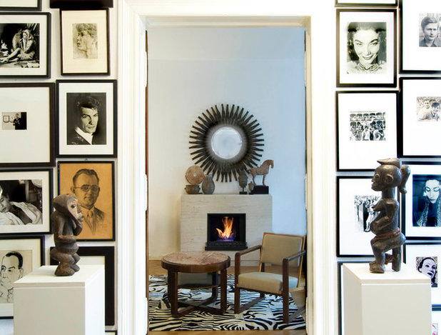 Eclectic Home Office Eklektisch Arbeitszimmer