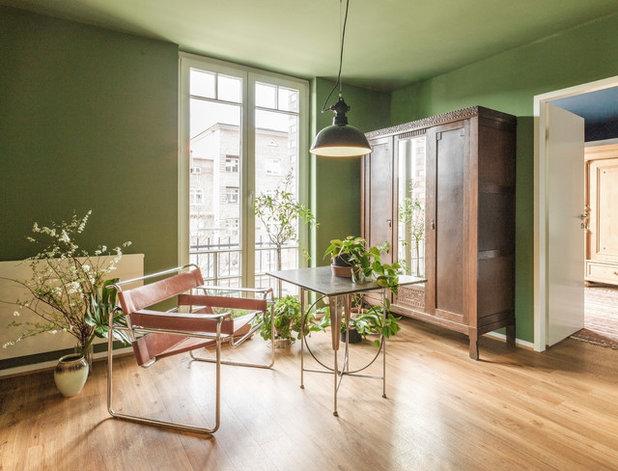 Éclectique Bureau à domicile by Studio Plietsch