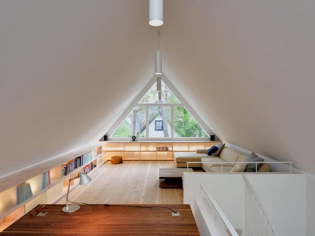 Elegant Modern Arbeitszimmer By Möhring Architekten