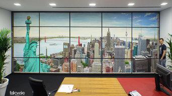 Gesamtbild - Illusionsmalerei - The Skyline