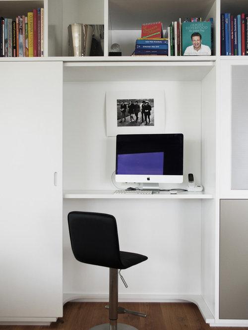 Kleines Arbeitszimmer mit Arbeitsplatz - Ideen für Ihr Home Office ...