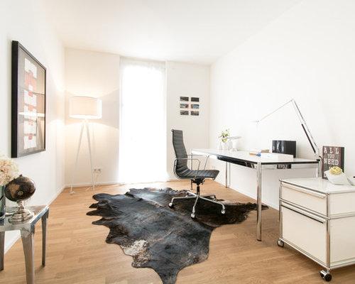 Moderne arbeitszimmer in essen ideen design bilder houzz for Wandfarbe arbeitszimmer