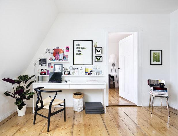Skandinavisch Arbeitszimmer by Designstudio Pascal Walter