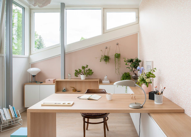 Modern Arbeitszimmer by SIMONE AUGUSTIN PHOTOGRAPHY
