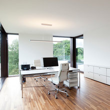 Modern Arbeitszimmer Contemporary Home Office Library