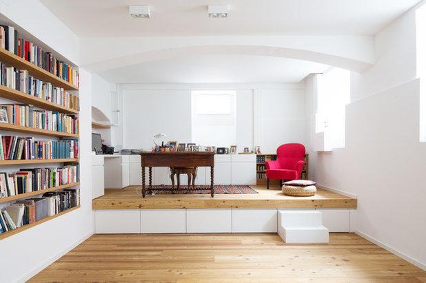 Modern Arbeitszimmer by pur architekten petri und raff PartGmbB