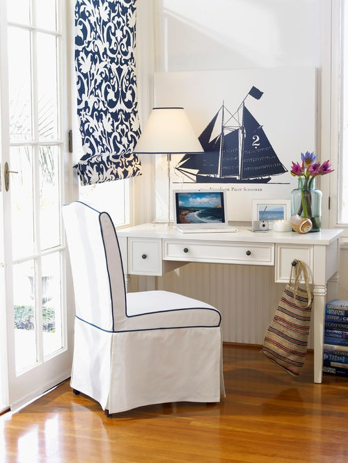 maritime arbeitszimmer ideen design bilder houzz. Black Bedroom Furniture Sets. Home Design Ideas