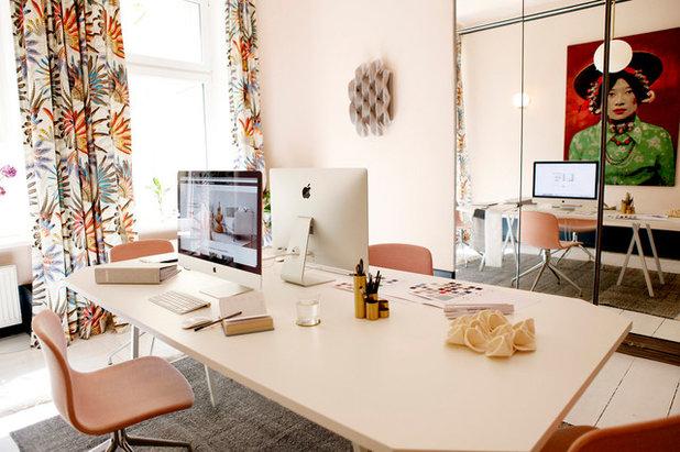 Eklektisch Arbeitszimmer by CARLO Berlin - Architektur & Interior Design