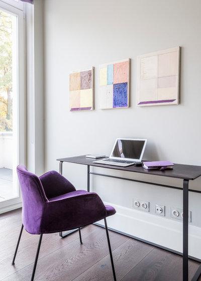 Modern Arbeitszimmer by Lange Geller Kuehl Interiors