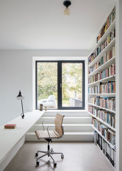 Contemporary Home Office by SEHW Architektur GmbH
