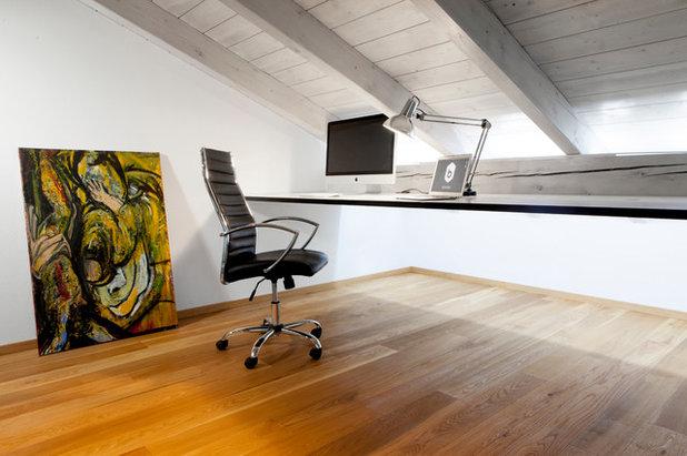 arbeitsplatz unter der dachschr ge 5 einrichtungstipps. Black Bedroom Furniture Sets. Home Design Ideas