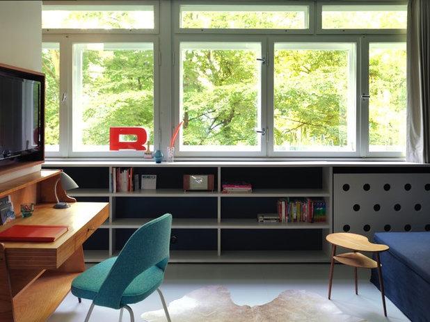 Midcentury Home Office by a-base | büro für architektur