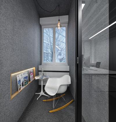 Современный Кабинет by be_planen Architektur GmbH