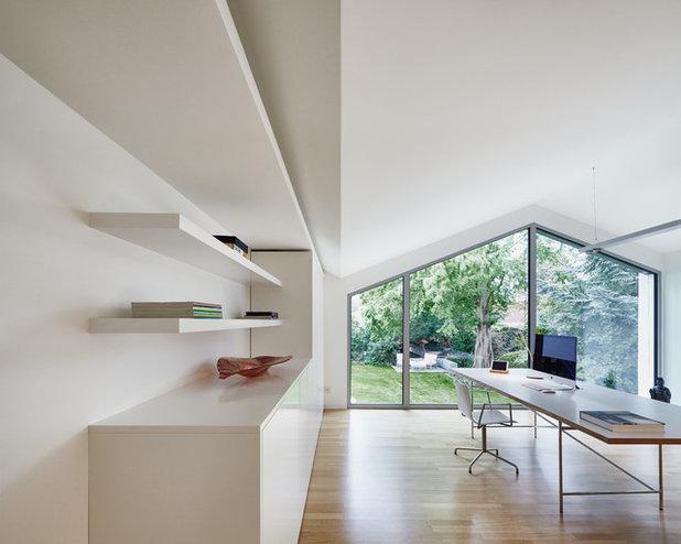 Modern Arbeitszimmer by Benjamin von Pidoll I Architektur