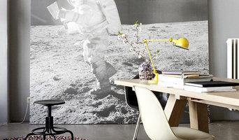 Wandbild Astronaut