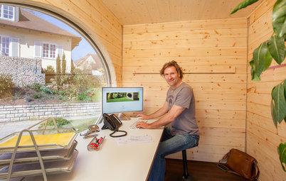 Houzz Германия:  Дом 5 кв.м — для маленького участка