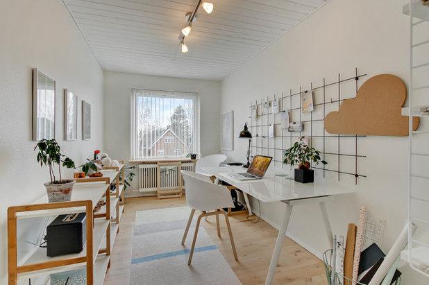 Skandinavisk Hjemmekontor by Din Mægler