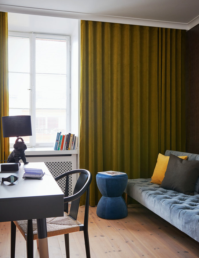 color strong apartment Stockholm