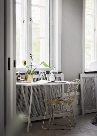 Contemporary Home Office by Stylingbolaget