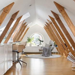 Inspiration för ett skandinaviskt arbetsrum
