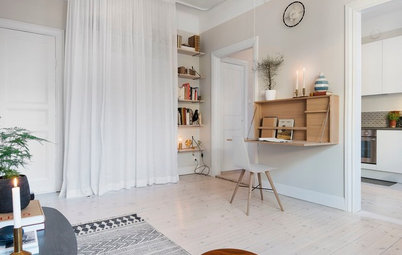 How to Squeeze a Mini Office into Any Home