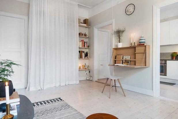 Scandinavian Home Office & Library by Scandinavian Homes
