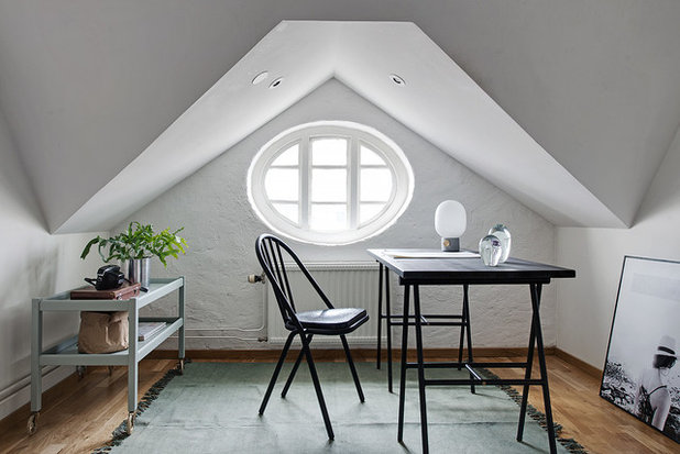 Scandinavian Home Office by Alvhem Mäkleri & Interiör