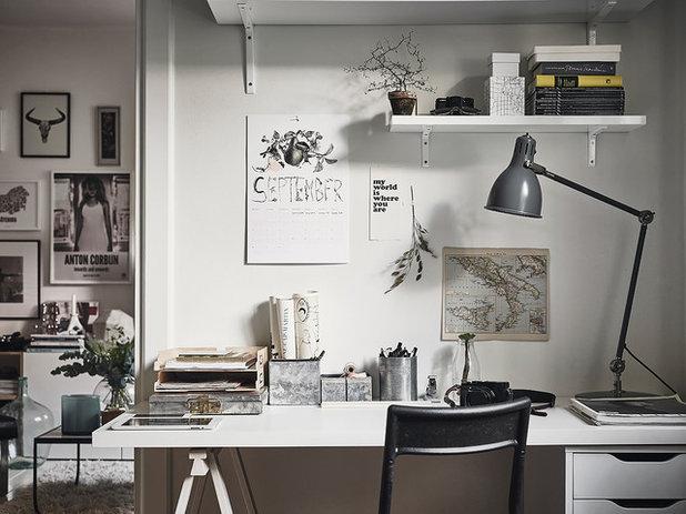 Skandinavisk Hjemmekontor by Anders Bergstedt Photography