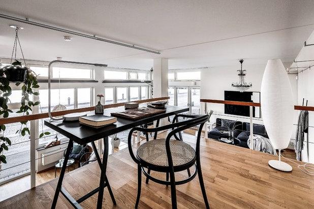 Scandinavian Home Office & Library by dream design sthlm