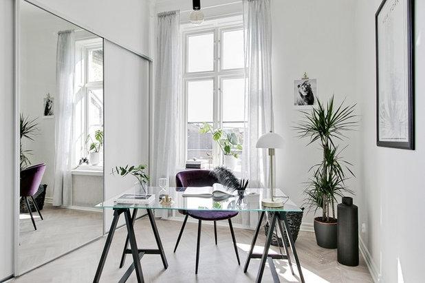 北欧 ホームオフィス・仕事部屋 by Bjurfors Skåne