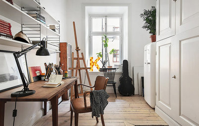 13 Decorating Tricks for a More Pleasurable Home Office