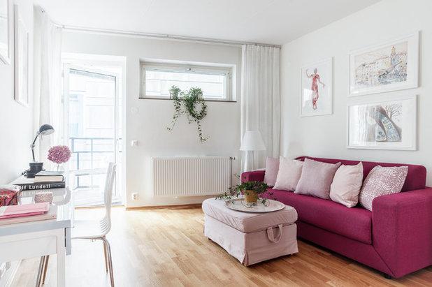 Skandinavisch Arbeitszimmer by Happicovers Homestyling