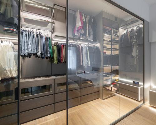 Foto e Idee per Cabine Armadio - cabine armadio di medie dimensioni