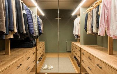 Más vale una imagen...: 10 vestidores perfectamente ordenados