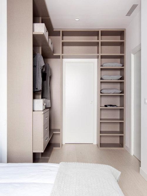 Ideas para armarios y vestidores dise os de armarios y - Armario blanco pequeno ...