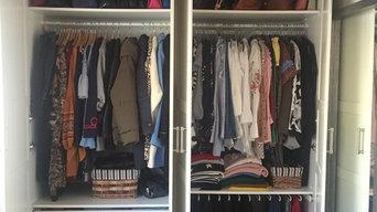 Reorganización de armario