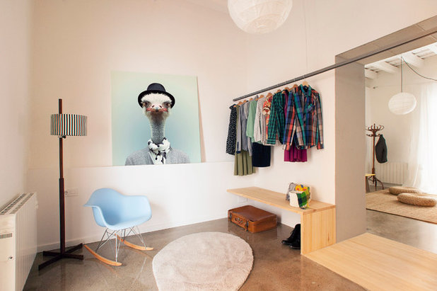 Scandinave Armoire et Dressing by Nook Architects