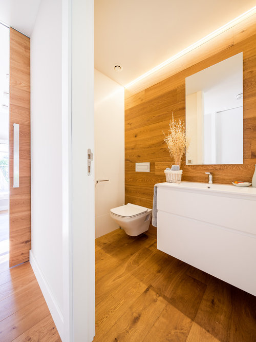 30 best affordable powder room with brown walls ideas